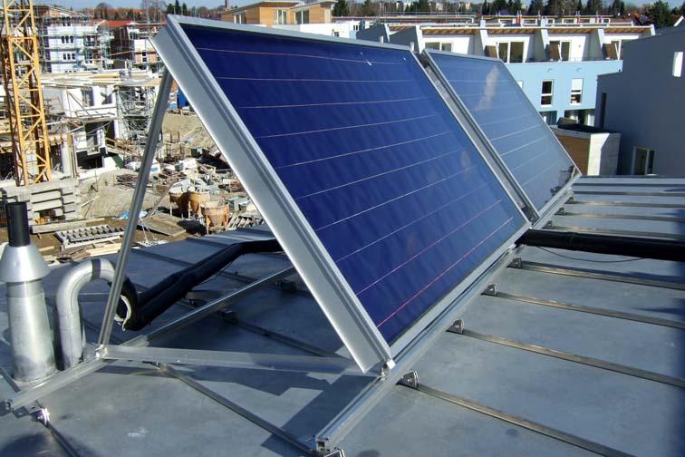 Solaranlagen München visualisierung und monitoring thermischen solaranlagen